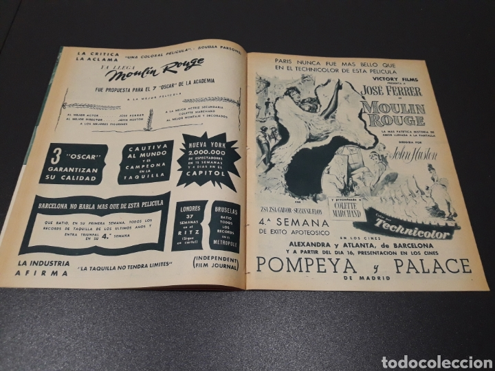 Cine: AURORA BAUTISTA, JEAN COCTEAU, KAY KENDALL, GINO CERVI, ALAN LADD. N° 683. 15/11/1953. - Foto 6 - 183697206