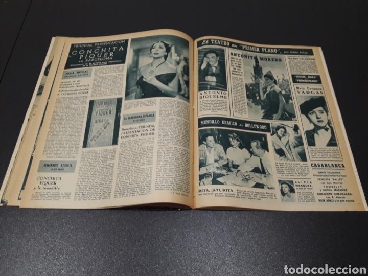 Cine: AURORA BAUTISTA, JEAN COCTEAU, KAY KENDALL, GINO CERVI, ALAN LADD. N° 683. 15/11/1953. - Foto 15 - 183697206