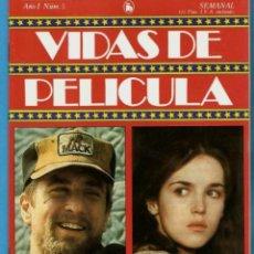 Cine: ROBERT DE NIRO-ISABELLE ADJANI VIDAS DE PELÍCULA Nº 5 AÑO 1 NUEVO 1986 BRUGUERA. Lote 254508685