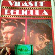Cine: CLINT EASTWOOD-AUDREY HEPBURN VIDAS DE PELÍCULA Nº 3 AÑO 1 NUEVO 1986 BRUGUERA. Lote 183725872