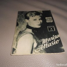 Cine: IDOLOS DEL CINE Nº 73 - MARISA ALLASIO - 1958. Lote 183823157