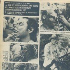 Cine: LOS TRES SUDAMERICANOS PIERRE CARDIN CANTANTE GONZALO MANUEL GALIANA DIEGO CARCEDO ISA LORENZ . Lote 184057575