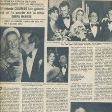 Cine: ROSA MARÍA SARDÁ JOSÉ RECATALÁ JUAN CARLOS NAYA FLAVIO (CARLI JR) MARIA DOLORES PONS RECORTES 1978. Lote 184057705