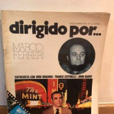 Cine: DIRIGIDO POR MARCO FERRERI NÚMERO 15. Lote 184058531