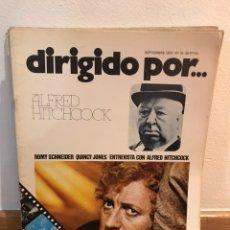 Cine: DIRIGIDO POR ALFRED HITCHCOCK NÚMERO 16. Lote 184058561
