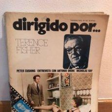 Cine: DIRIGIDO POR TERENCE FISHER NUMERO 20. Lote 184058608