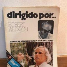 Cine: DIRIGIDO POR ROBERT ALDRICH NUMERO 34. Lote 184059055