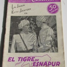 Cinema: PUBLICACIONES CINEMA. EL TIGRE DE ESNAPUR. KITTY JANTZEN. LA JANA. Nº 7. Lote 184123240