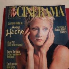 Cine: CINERAMA 1999 NÚMERO 76..MANUEL GOMEZ PEREIRA. ANNE HECHE..BRAND PITT..INGRID BERGMAN..EMMA SUAREZ.J. Lote 184172241