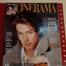 Cine: CINERAMA 1995 NÚMERO 42 JAMES BOND..JODIE FOSTER..MELANIE GRIFFITH..HUGH GRANT ..MARISA PAREDES .. Lote 184173713