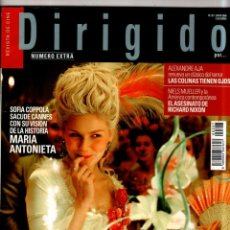 Cine: DIRIGIDO POR.. REVISTA DE CINE. Nº 357. JUNIO 2006. NUMERO EXTRA. SOFIA COPPOLA. . Lote 184338445