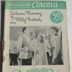 Cine: PUBLICACIONES CINEMA. ROSAS NEGRAS. LILIANE HARVEY. Nº 21. Lote 184348868