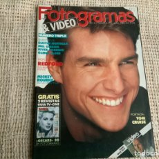 Cine: FOTOGRAMAS Nº 1751 ABRIL 1989 TOM CRUISE , DUSTIN HOFFMAN , MEL GIBSON , GLENN CLOSE. Lote 195414493