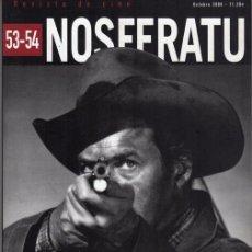 Cine: NOSFERATU. NUMERO DOBLE. REVISTA DE CINE. Nº 53.54. Lote 184376187