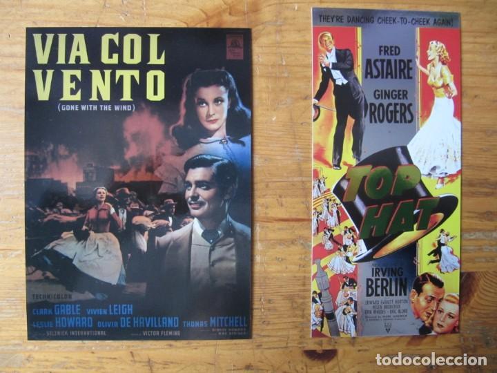 CLASSIC VINTAGE MOVIE POSTER COLLECTION - PROMOS LO QUE EL VIENTO SE LLEVO Y SOMBRERO DE COPA (Cine - Reproducciones de carteles, folletos...)