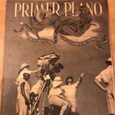 Cine: REVISTA PRIMER PLANO DICIEMBRE 1940 IMPERIO ARGENTINA TYRONE POWER CELIA GAMEZ AMPARO RIVELLES. Lote 184491262