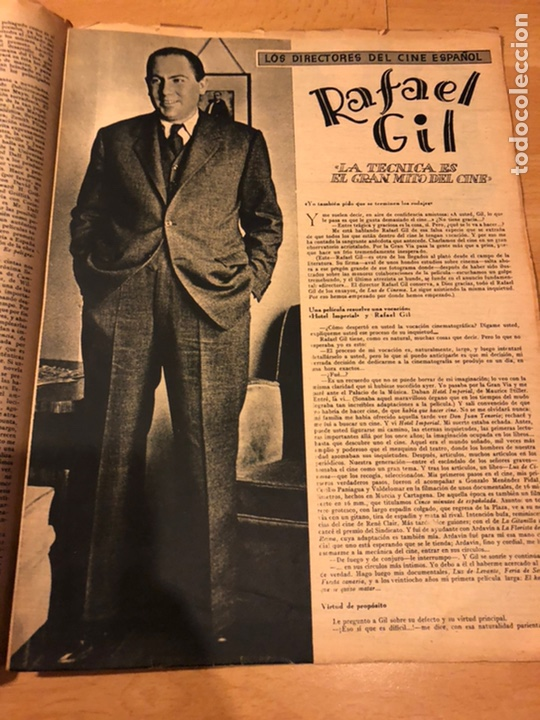 Cine: Revista primer plano febrero 1943 ana mariscal rafael gil hans sohnker - Foto 3 - 184492268