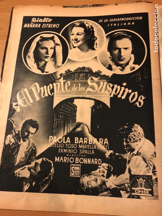Cine: Revista primer plano febrero 1943 ana mariscal rafael gil hans sohnker - Foto 6 - 184492268