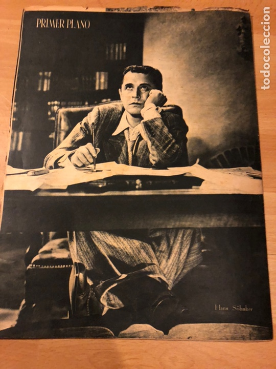 Cine: Revista primer plano febrero 1943 ana mariscal rafael gil hans sohnker - Foto 8 - 184492268