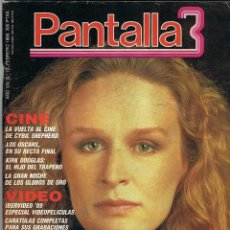 Cinema: PANTALLA 3 Nº 72. FEBRERO 1989. Lote 184505410