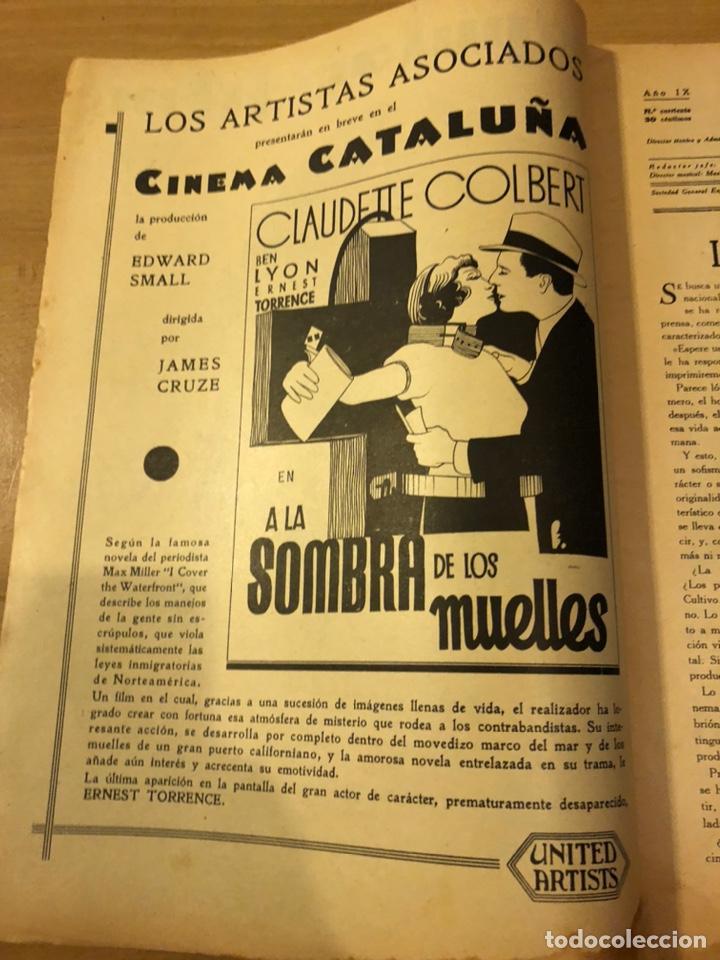 Cine: Revista popular film febrero 1934 clara bow.gary cooper.douglas fairbanks edward g robinson disney - Foto 2 - 184762901