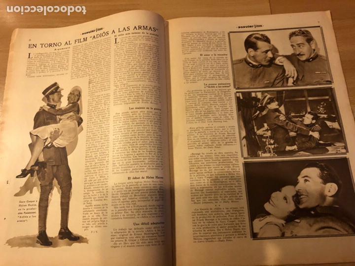 Cine: Revista popular film febrero 1934 clara bow.gary cooper.douglas fairbanks edward g robinson disney - Foto 4 - 184762901
