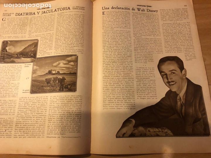 Cine: Revista popular film febrero 1934 clara bow.gary cooper.douglas fairbanks edward g robinson disney - Foto 5 - 184762901