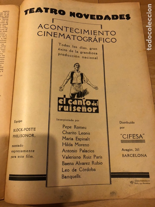 Cine: Revista popular film febrero 1934 clara bow.gary cooper.douglas fairbanks edward g robinson disney - Foto 6 - 184762901