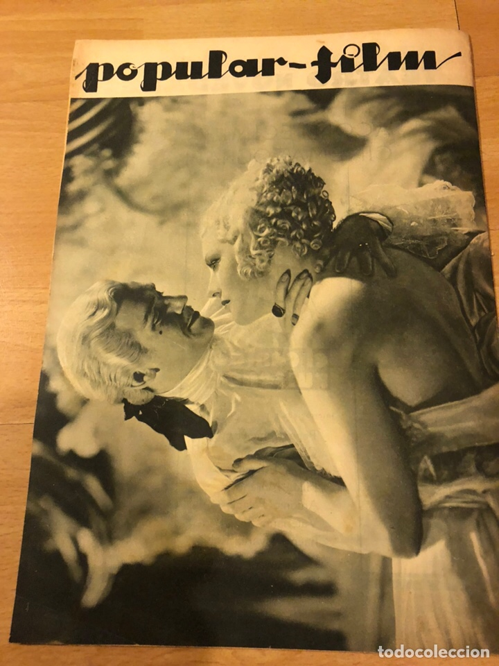 Cine: Revista popular film febrero 1934 clara bow.gary cooper.douglas fairbanks edward g robinson disney - Foto 7 - 184762901