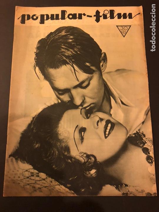 REVISTA POPULAR FILM FEBRERO 1934 CLARA BOW.GARY COOPER.DOUGLAS FAIRBANKS EDWARD G ROBINSON DISNEY (Cine - Revistas - Popular film)