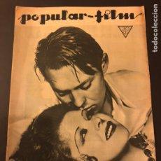 Cine: REVISTA POPULAR FILM FEBRERO 1934 CLARA BOW.GARY COOPER.DOUGLAS FAIRBANKS EDWARD G ROBINSON DISNEY. Lote 184762901
