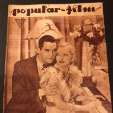 Cine: REVISTA POPULAR FILM MAYO 1934.CHESTER MORRIS.EDDIE CANTOR RAMON NOVARRO JAMES CAGNEY. Lote 184763165