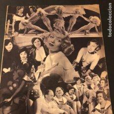 Cine: REVISTA POPULAR FILM JULIO 1934 CONSTANCE BENNETT.CHEVALIER SHIRLEY TEMPLE LUPE VELEZ CHAPLIN. Lote 184763466