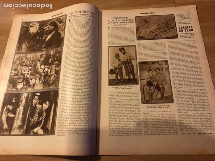 Cine: Revista popular film enero 1934 Kay Francis warner baker carole lombard - Foto 2 - 184764425