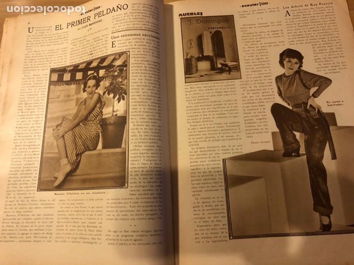 Cine: Revista popular film enero 1934 Kay Francis warner baker carole lombard - Foto 3 - 184764425