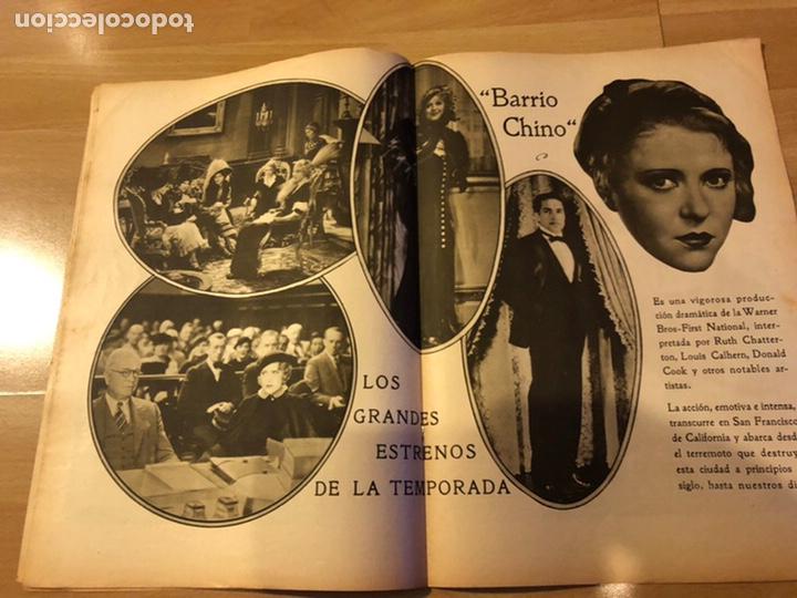 Cine: Revista popular film enero 1934 Kay Francis warner baker carole lombard - Foto 4 - 184764425