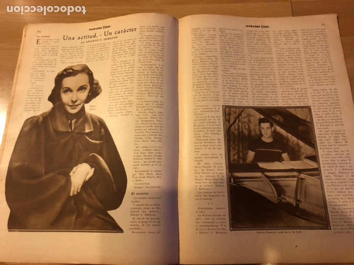 Cine: Revista popular film enero 1934 Kay Francis warner baker carole lombard - Foto 5 - 184764425