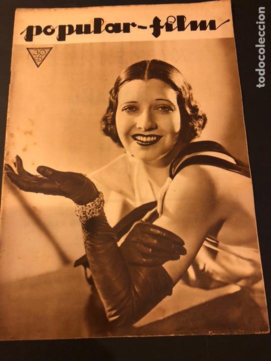 REVISTA POPULAR FILM ENERO 1934 KAY FRANCIS WARNER BAKER CAROLE LOMBARD (Cine - Revistas - Popular film)
