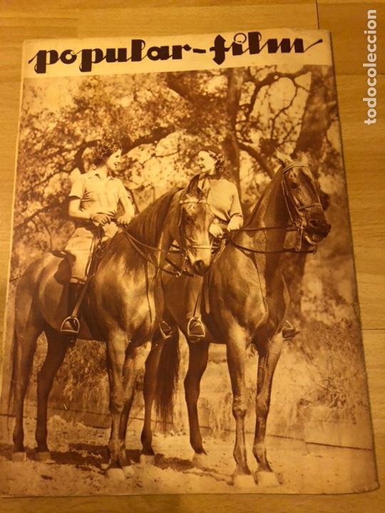 Cine: Revista popular film mayo 1934.ethel merman diana wynyard claudette colbert - Foto 6 - 184764781