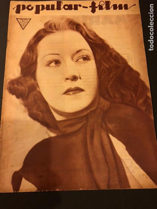 REVISTA POPULAR FILM MAYO 1934.ETHEL MERMAN DIANA WYNYARD CLAUDETTE COLBERT (Cine - Revistas - Popular film)
