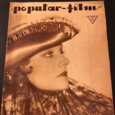 Cine: REVISTA POPULAR FILM ABRIL 1934 RONALD COLMAN JOAN CRAWFORD MURNAU. Lote 184765162