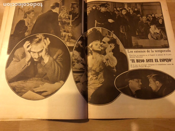 Cine: Revista popular film diciembre 1933 janet gaynor leslie howard mary pickford charles laughton - Foto 4 - 184765595