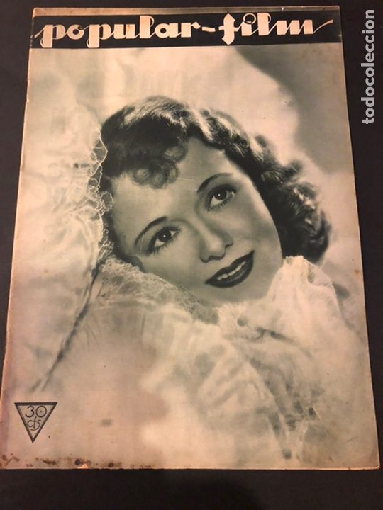REVISTA POPULAR FILM DICIEMBRE 1933 JANET GAYNOR LESLIE HOWARD MARY PICKFORD CHARLES LAUGHTON (Cine - Revistas - Popular film)