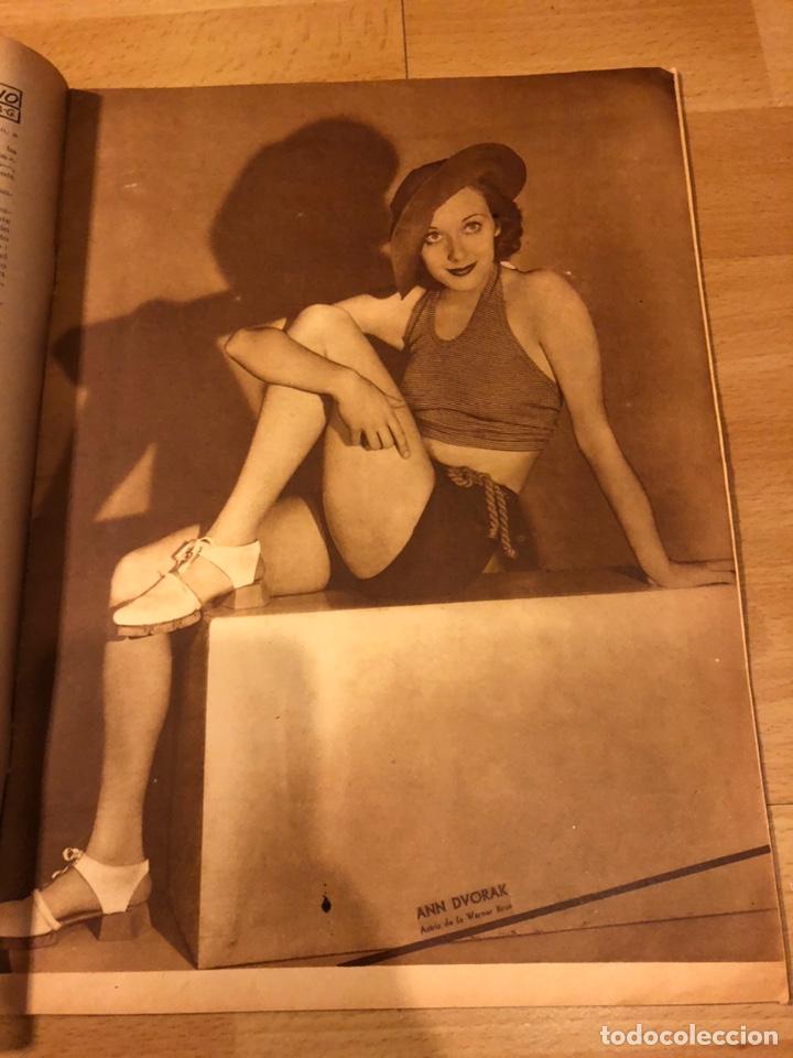 Cine: Revista popular film junio 1934 skimo.gloria swanson Thelma tood Warren william norma shearer - Foto 3 - 184765983
