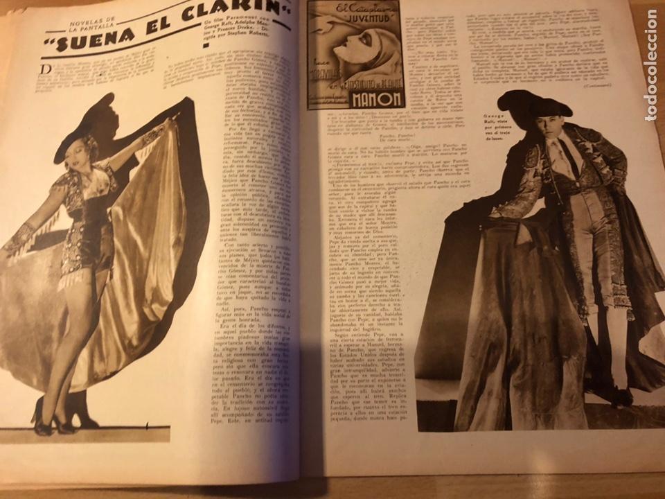 Cine: Revista popular film junio 1934 skimo.gloria swanson Thelma tood Warren william norma shearer - Foto 4 - 184765983