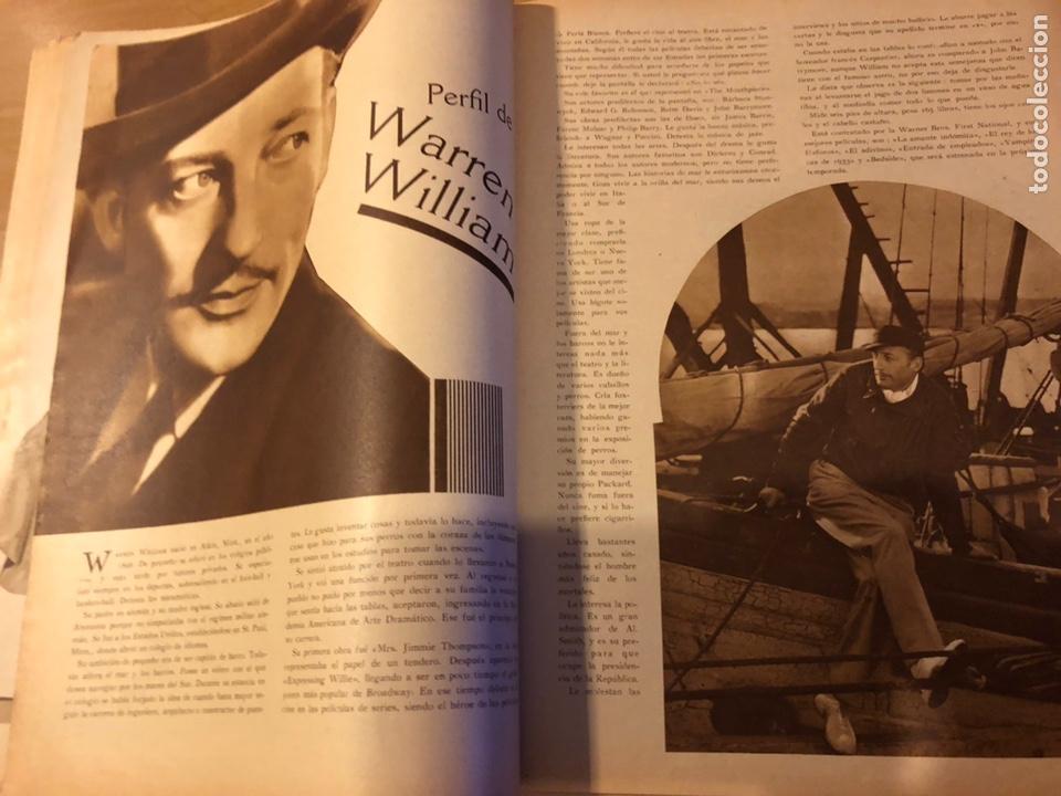 Cine: Revista popular film junio 1934 skimo.gloria swanson Thelma tood Warren william norma shearer - Foto 5 - 184765983