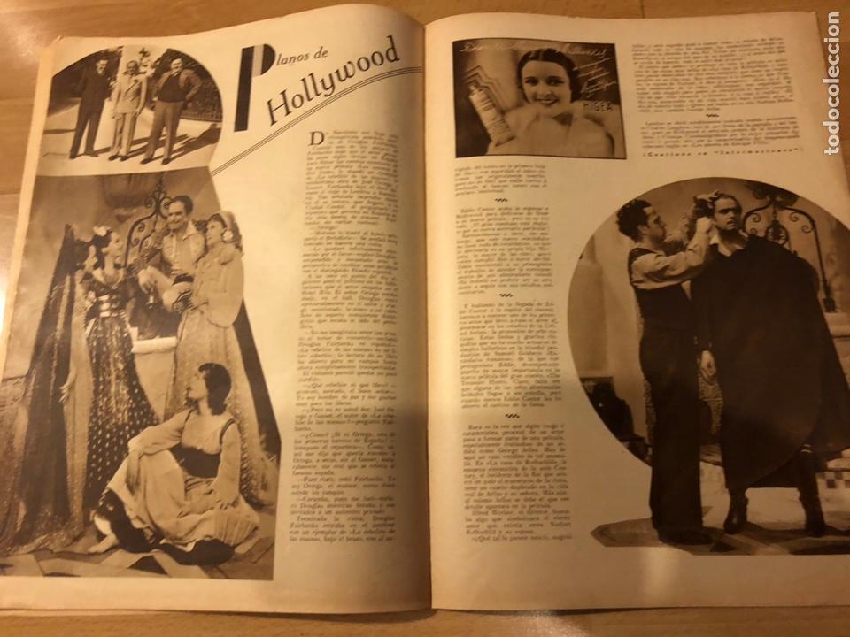 Cine: Revista popular film junio 1934 skimo.gloria swanson Thelma tood Warren william norma shearer - Foto 7 - 184765983