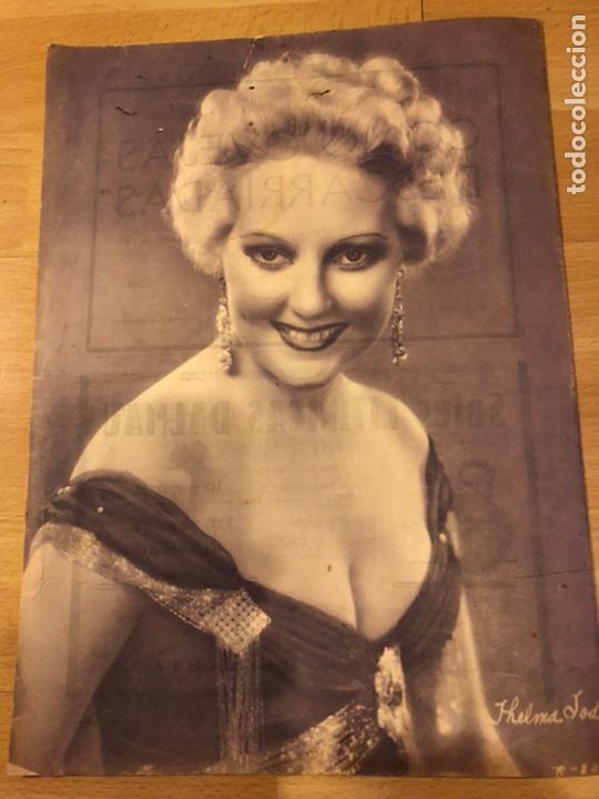 Cine: Revista popular film junio 1934 skimo.gloria swanson Thelma tood Warren william norma shearer - Foto 9 - 184765983