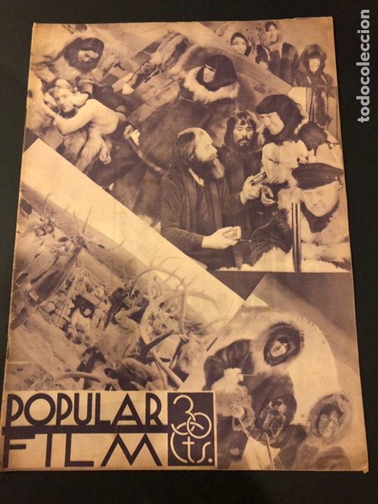 REVISTA POPULAR FILM JUNIO 1934 SKIMO.GLORIA SWANSON THELMA TOOD WARREN WILLIAM NORMA SHEARER (Cine - Revistas - Popular film)