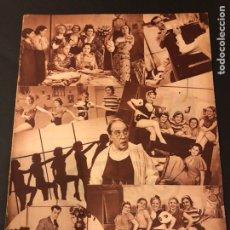 Cine: REVISTA POPULAR FILM AGOSTO 1934 GARY COOPER CONCHITA MONTENEGRO MARÍA FERNANDA LADRON DE GUEVARA. Lote 184766606